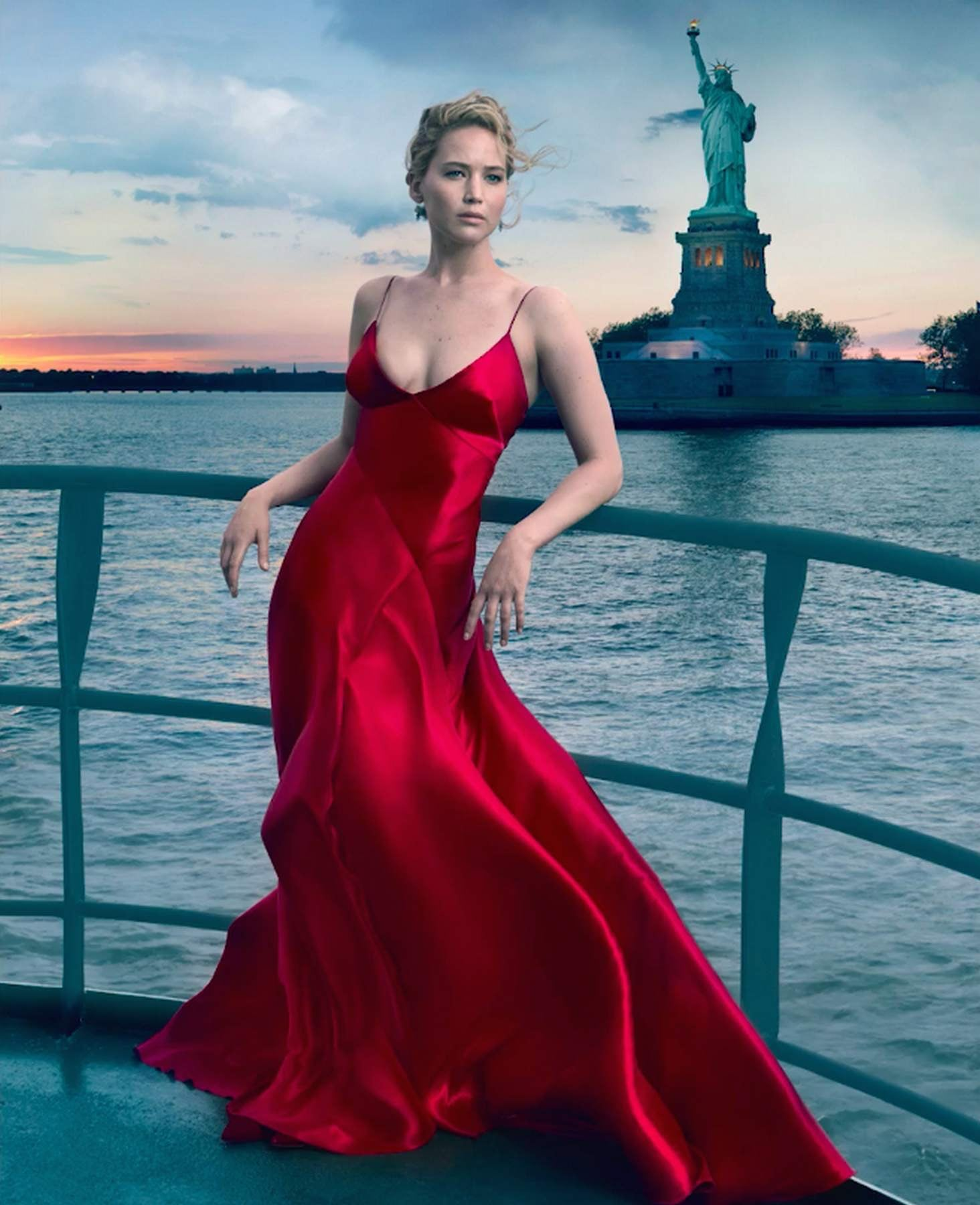 Jennifer Lawrence awesome dress