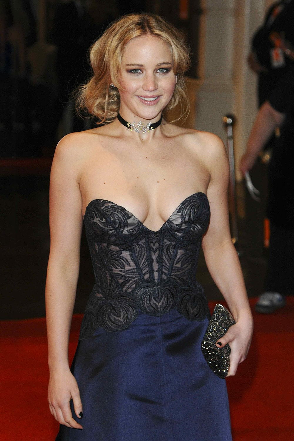 Jennifer Lawrence sexy pics dress