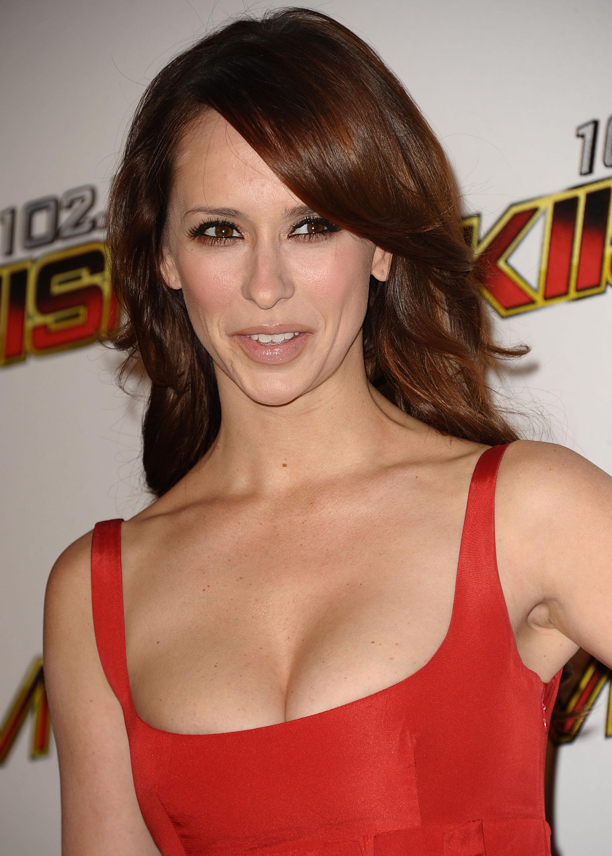 Jennifer Love Hewitt Hot in Red