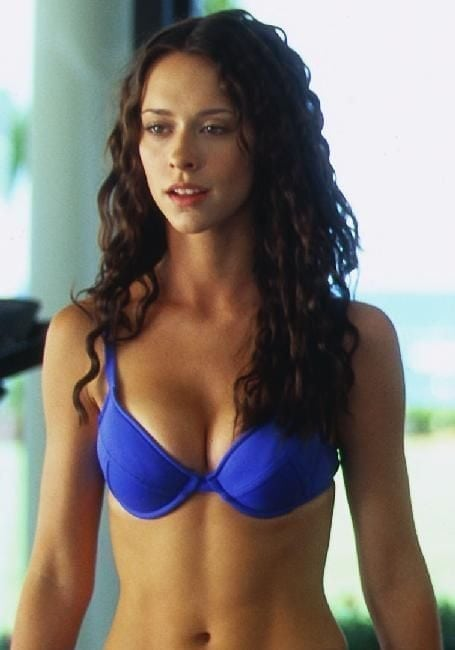 Jennifer Love Hewitt on Blue Bikini