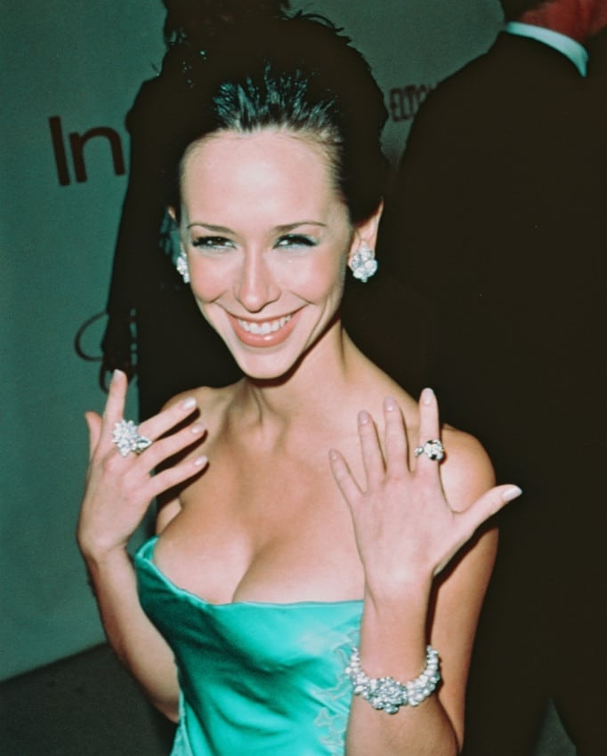 Jennifer Love Hewitt on Party