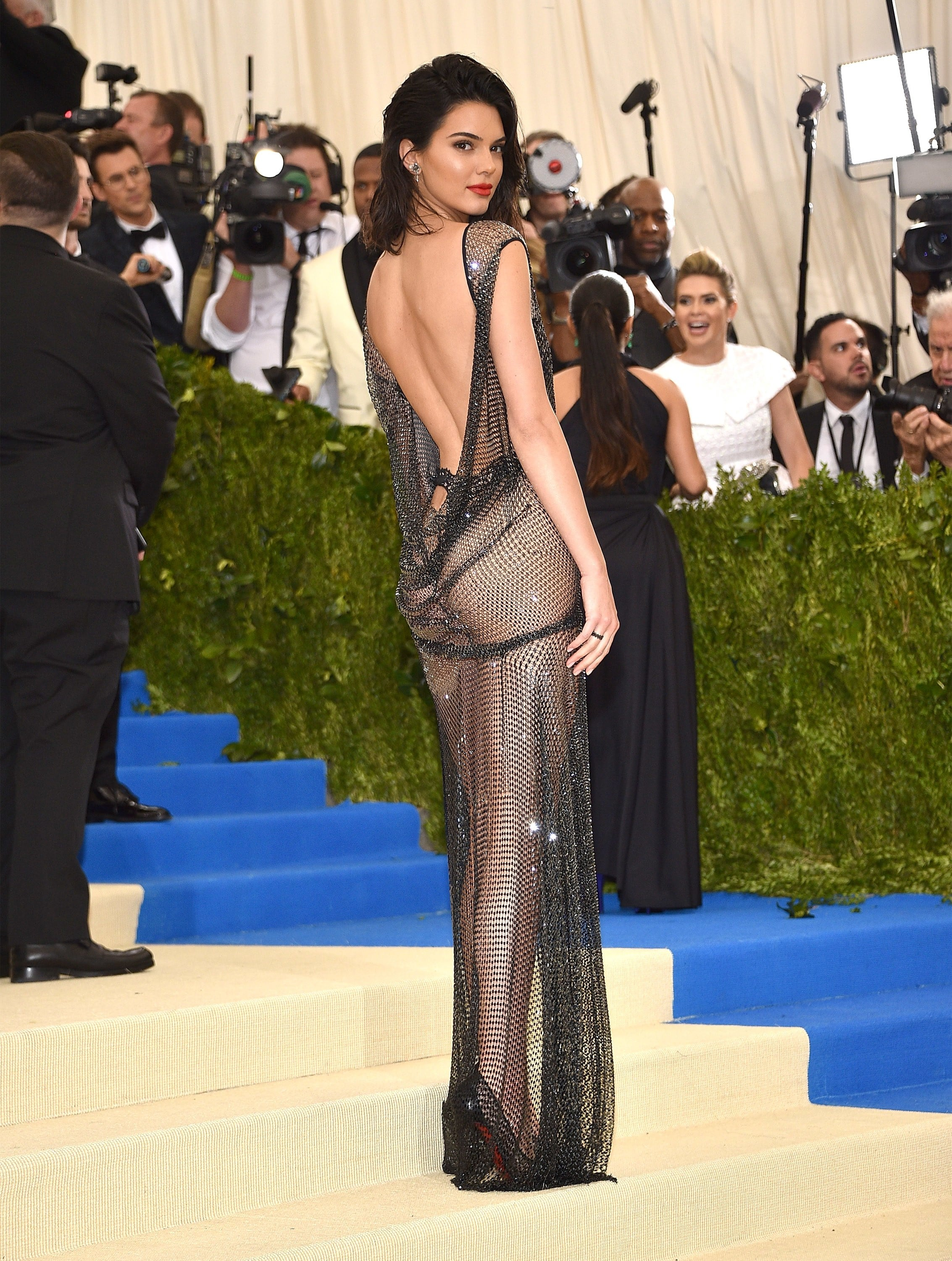 Kendall Jenner Sexy Back