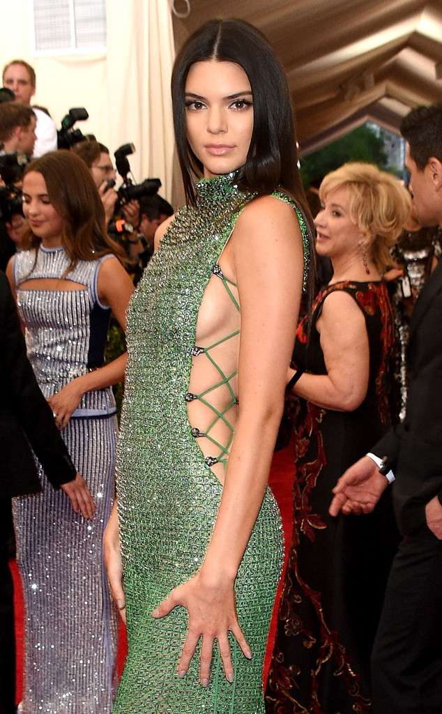 Kendall Jenner Side Boobs