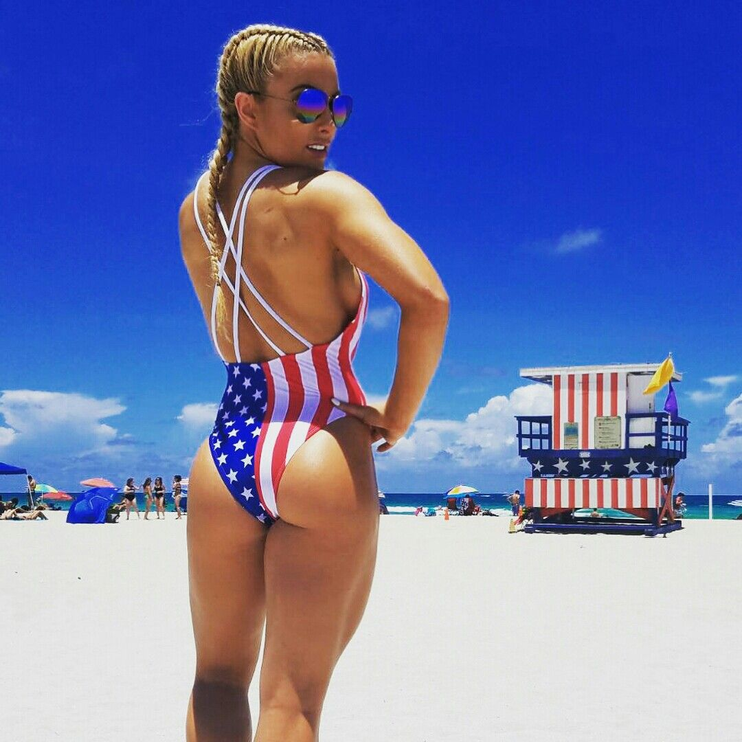 Mandy Rose beach