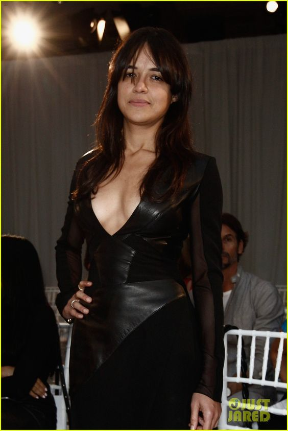 Michelle Rodriguez Hot in Black