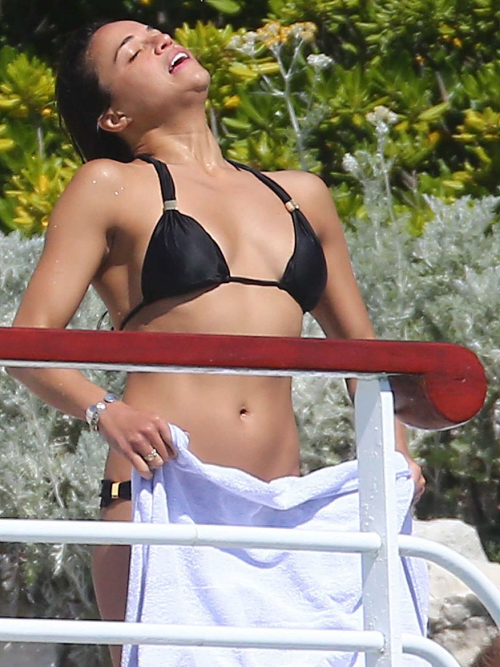 Michelle Rodriguez on Swimming Pool