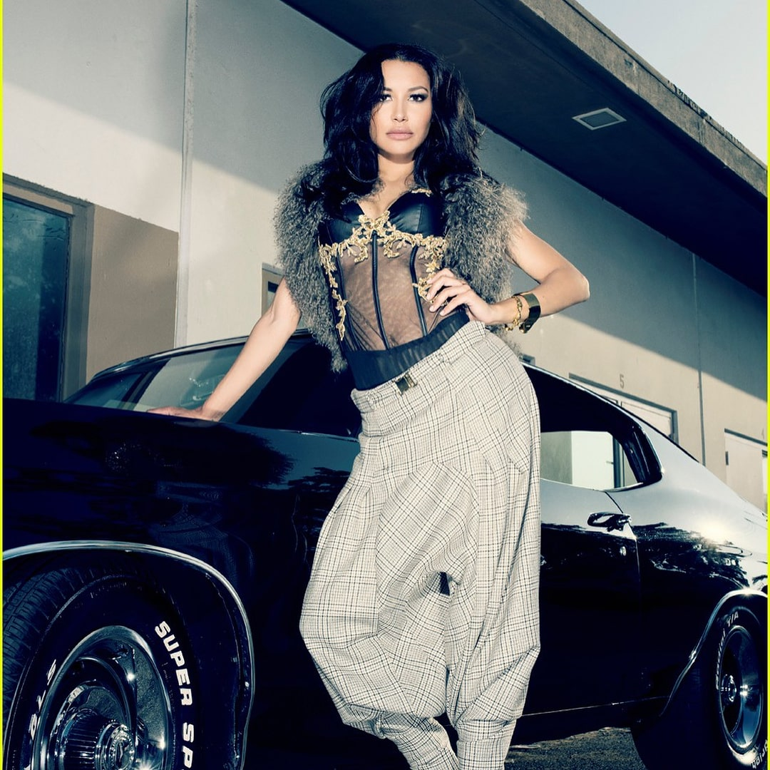 Naya Rivera on Photoshoot