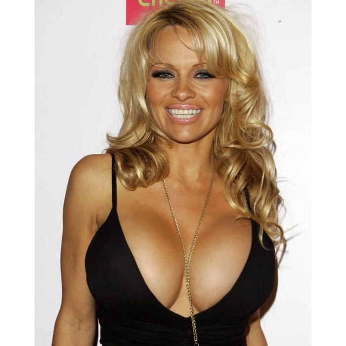 Pamela Anderson awesome cleavages pic