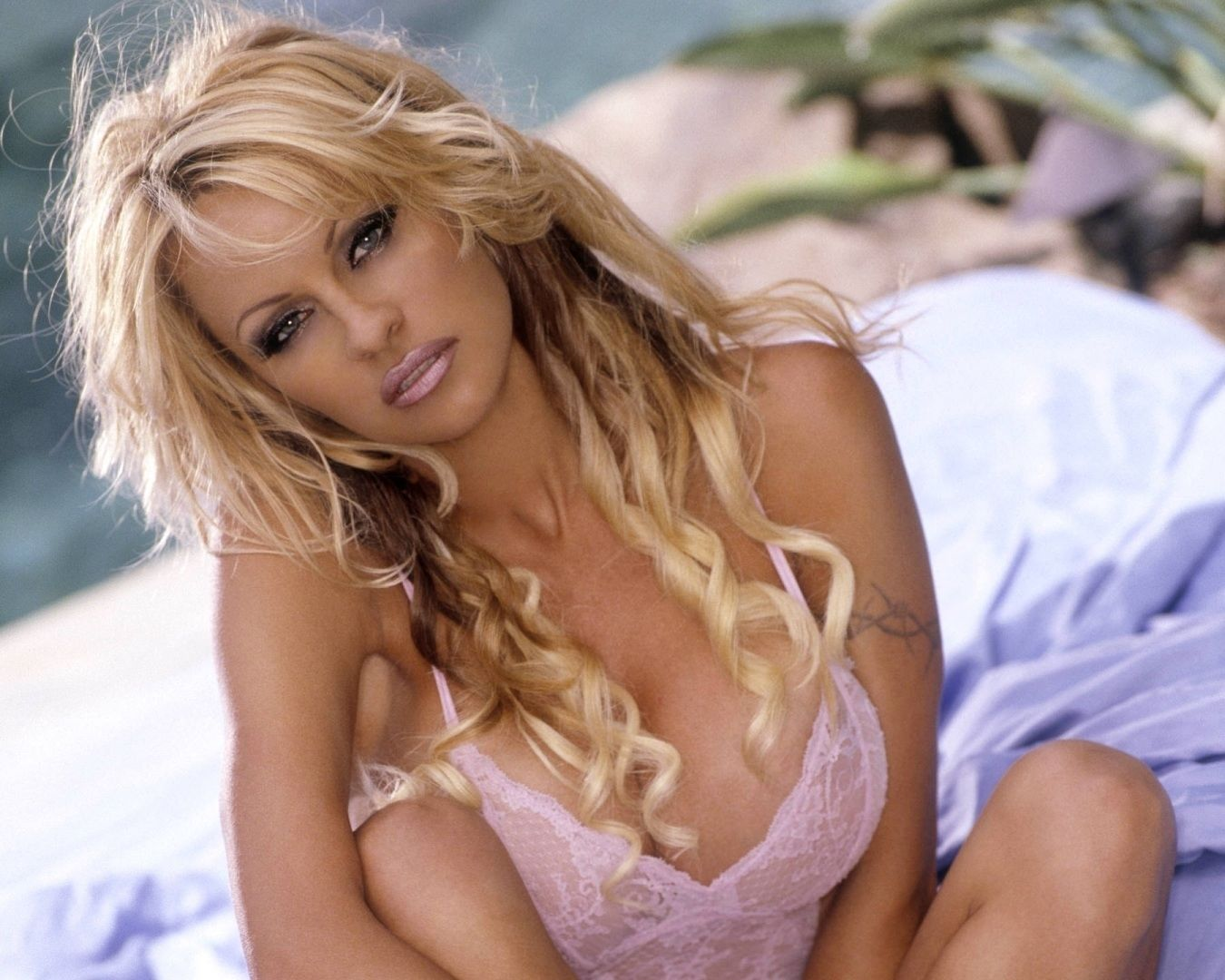Pamela Anderson beautiful hair