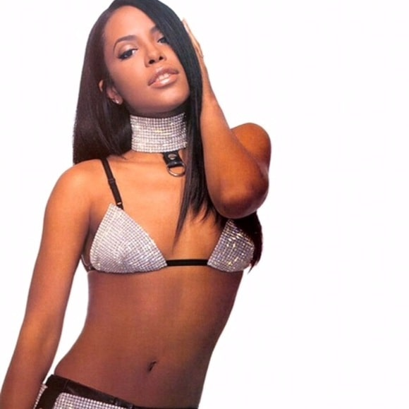 aaliyah sexy dress
