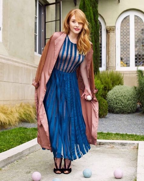 bryce dallas howard blue dress