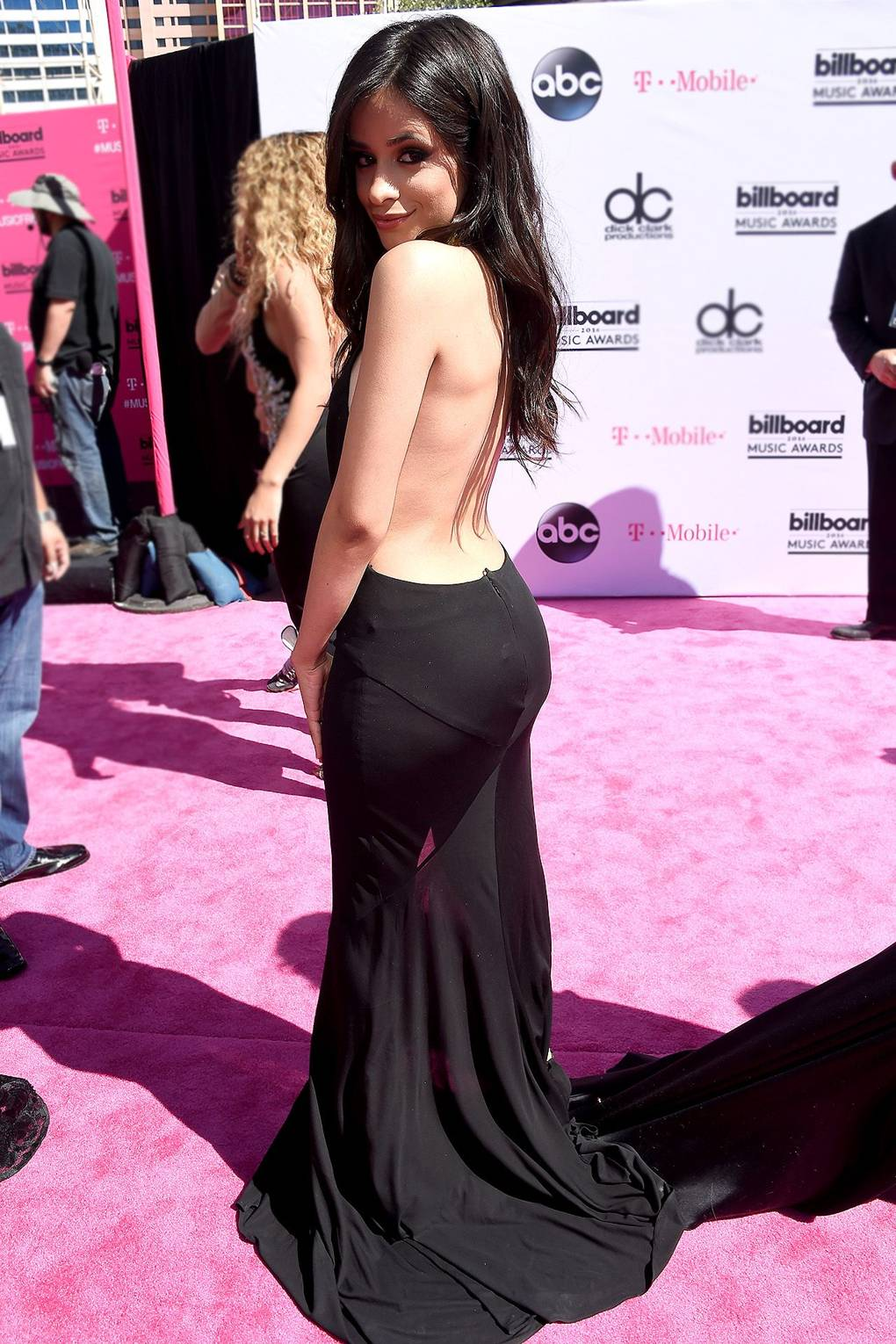 camila cabello awesome back