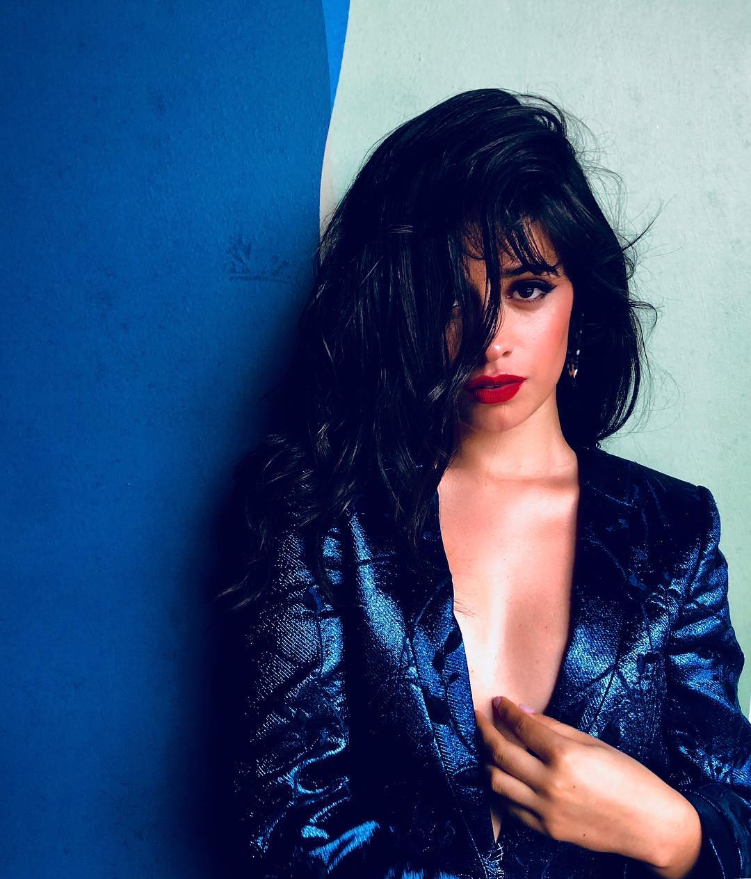 camila cabello awesome cleavage