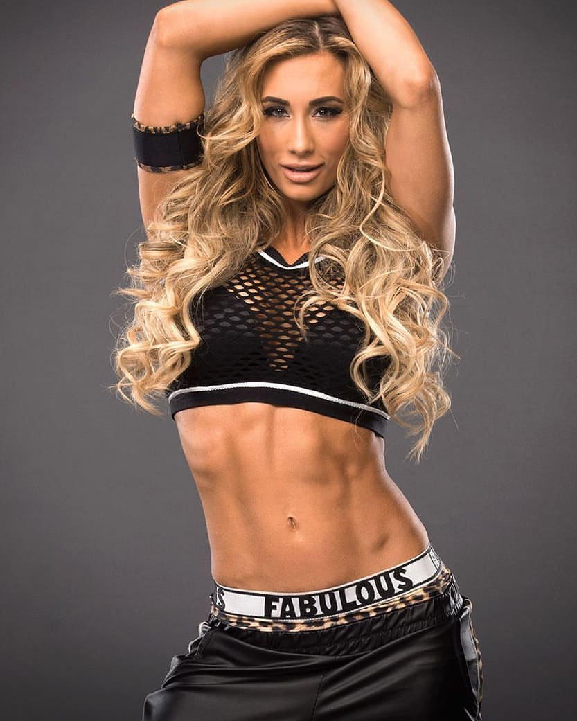 carmella long hair