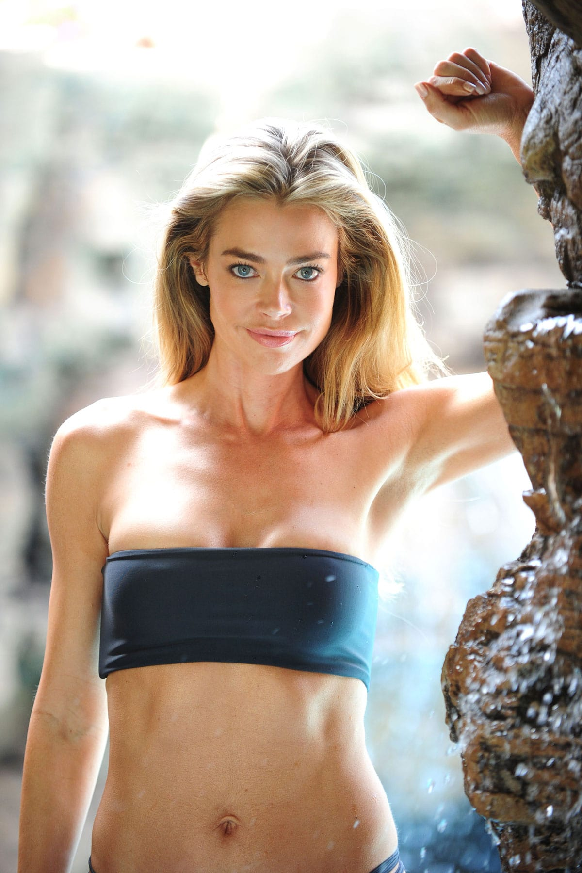 denise richards black bikini