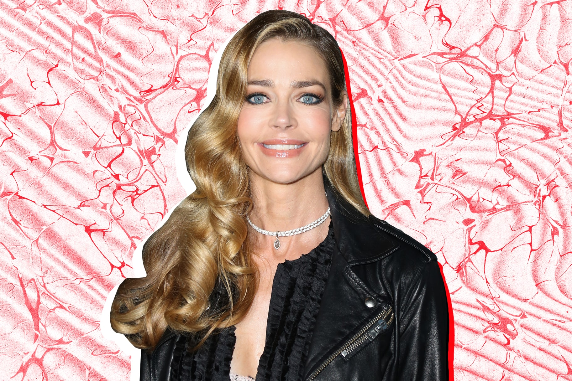denise richards blue eyes