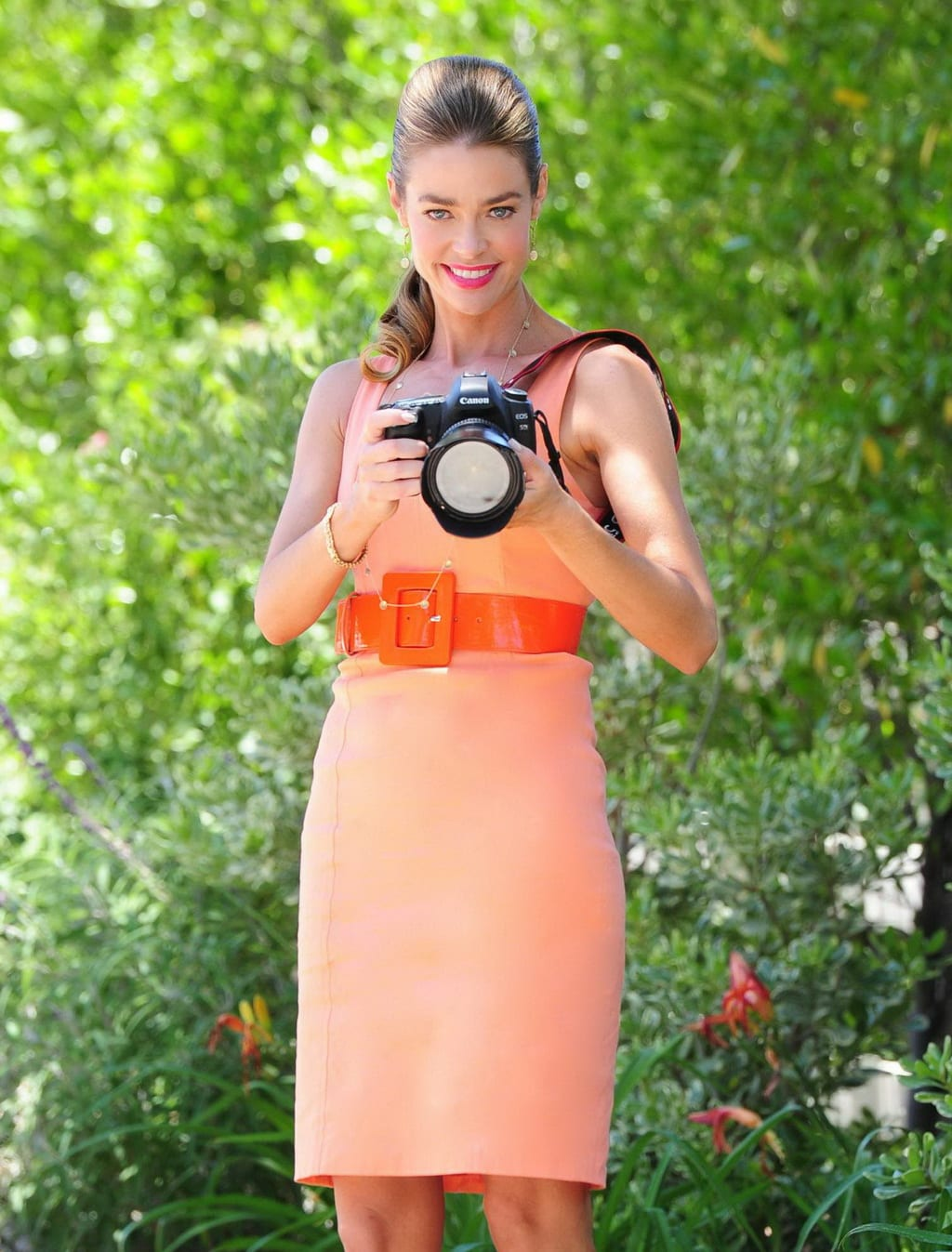 denise richards with camera