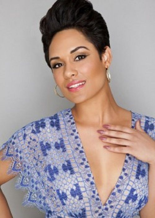 grace byers hot cleavage