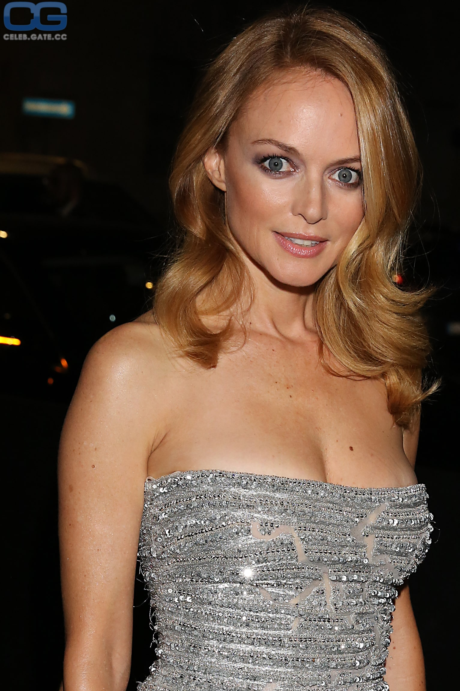 heather graham hot cleavage
