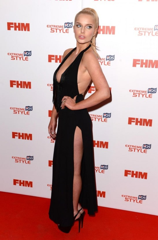 helen flanagan red carpet