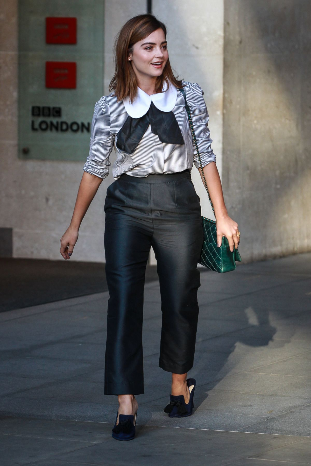 jenna coleman awesome look