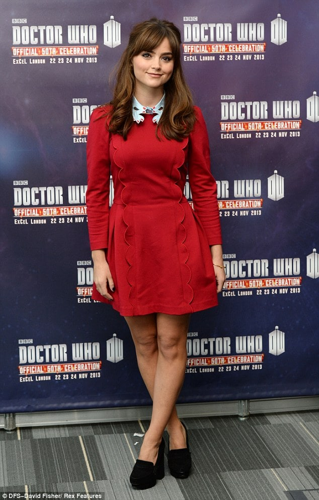 jenna coleman great feet