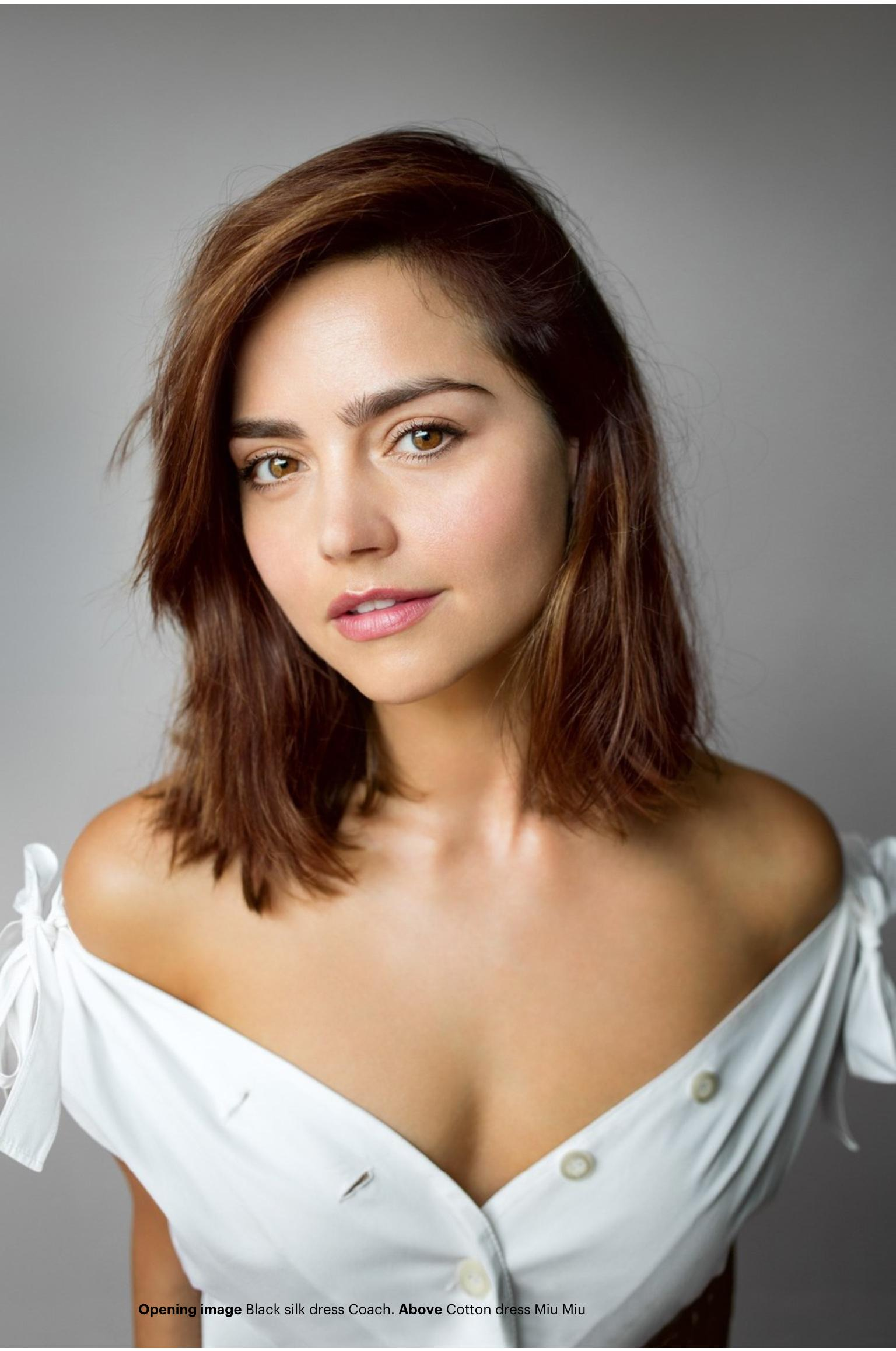 jenna coleman sexy cleavage