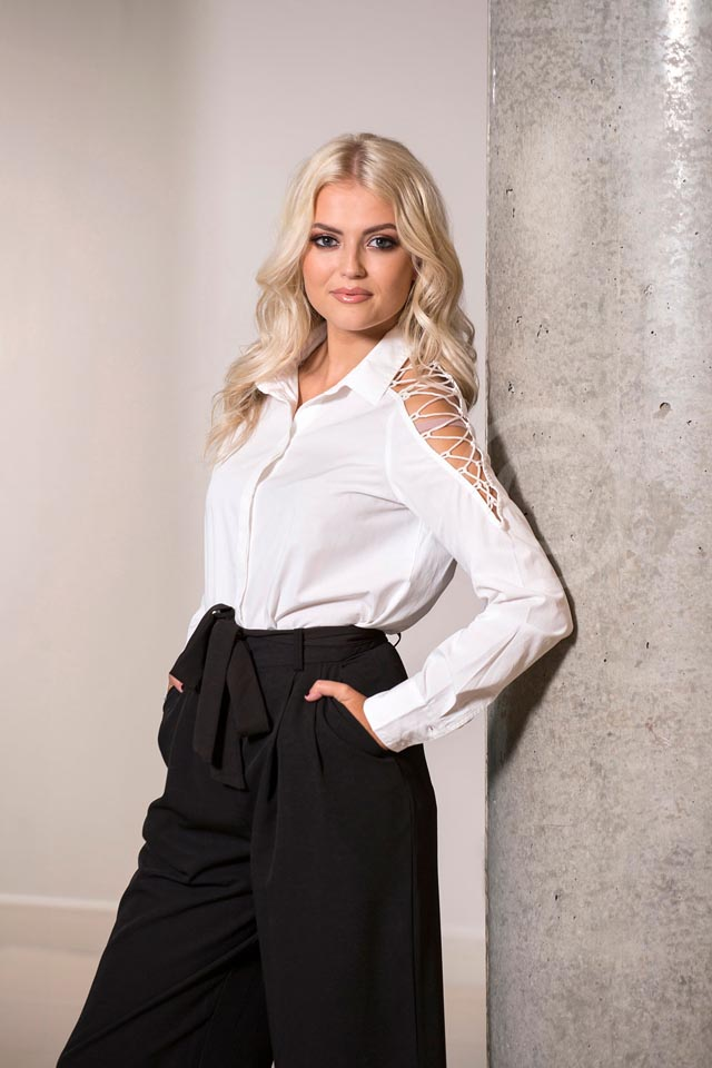 lucy fallon black and white