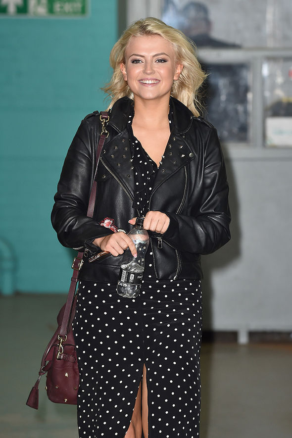 lucy fallon legs awesome smile