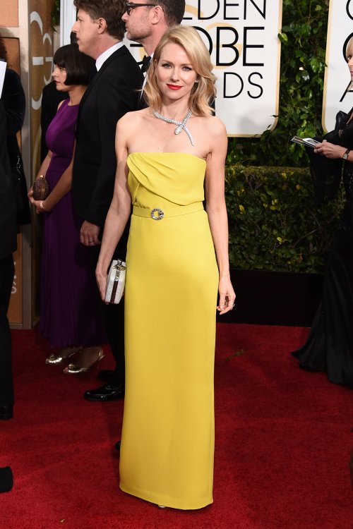 naomi watts yellow dress