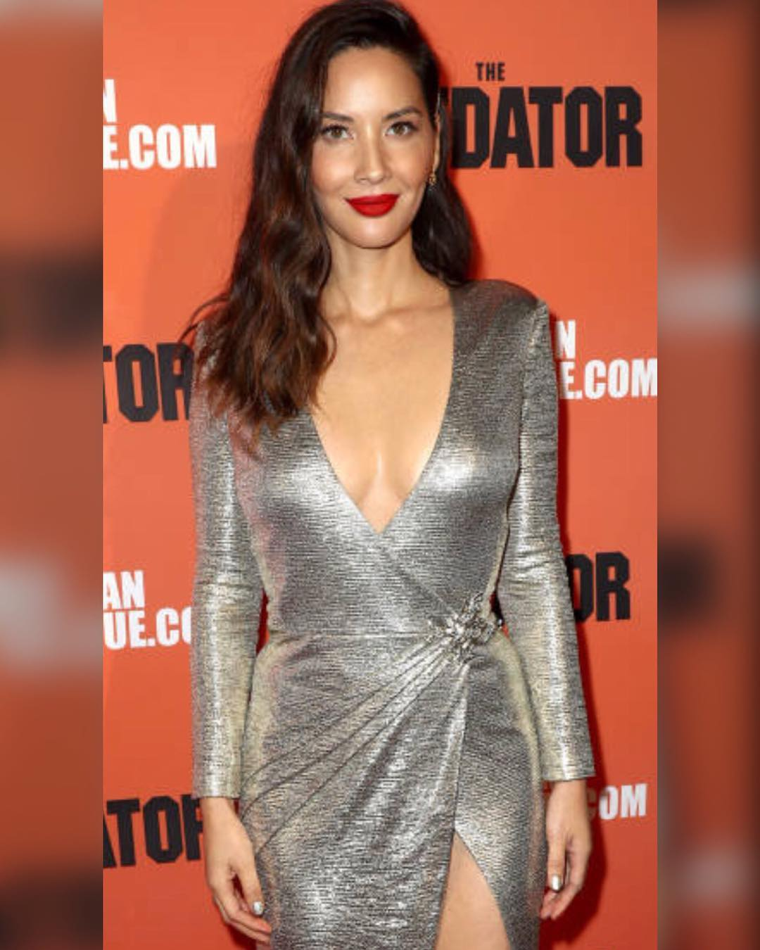 olivia munn cleavages hots