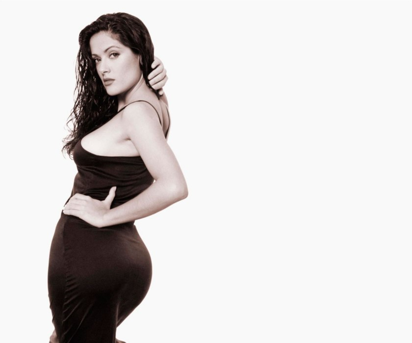 salma hayek biggest ass