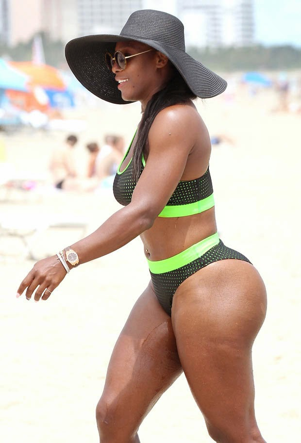serena william ass