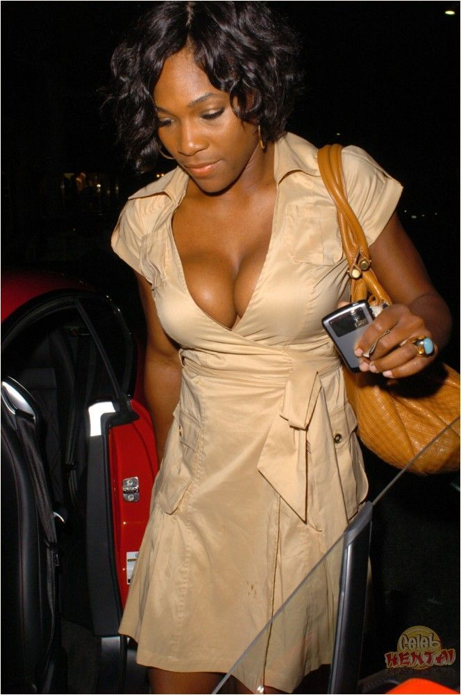 serena william big boobs