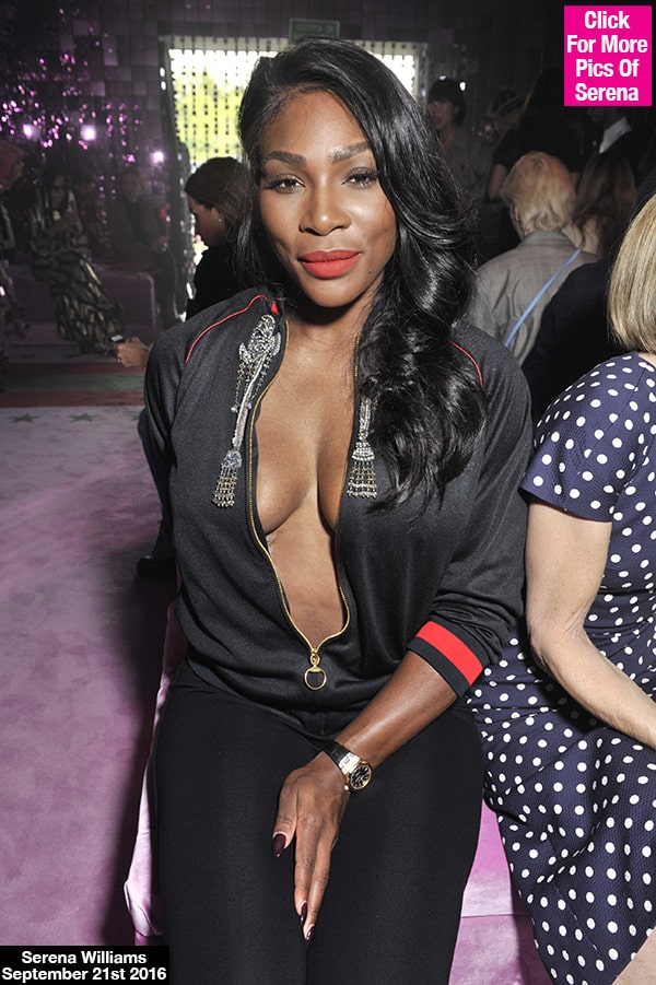 serena william cleavage