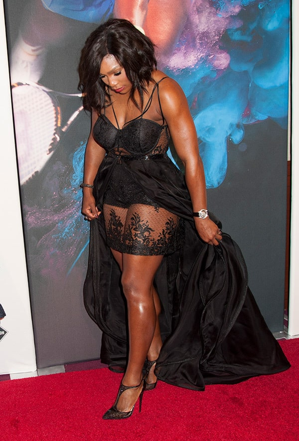 serena william red carpet