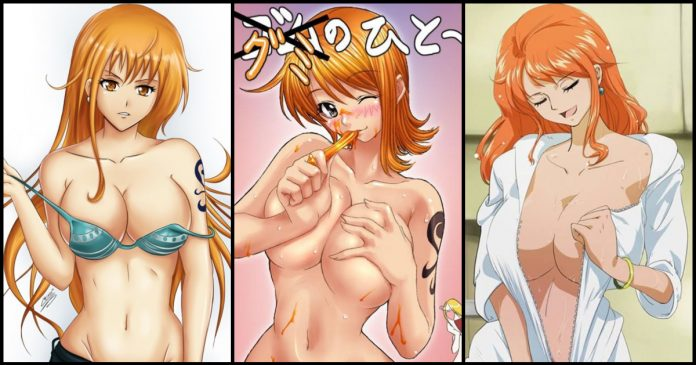 49 Hot Pictures Of Nami from One Piece Are Really Amazing