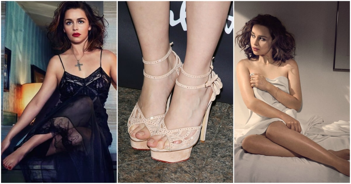 49 Hottest Emilia Clarke Sexy Feet Pictures Are Just Too