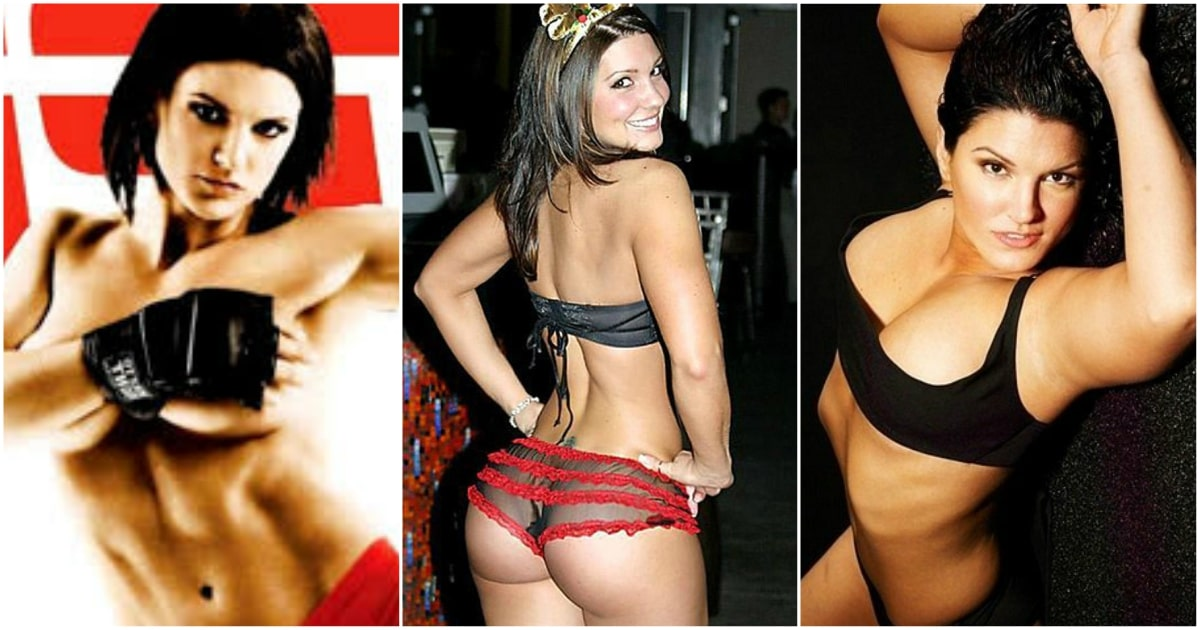 49 Hottest Gina Carano Bikini Pictures Show Off Her Amazing Sexy Ass And Hourglass Sexy Body