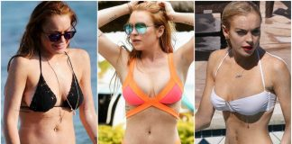 49 Hottest Lindsay Lohan Bikini Pictures Which Will Make You Fall In With Her Sexy Body
