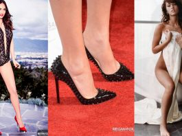 49 Hottest Megan Fox Sexy Feet Pictures Are Exceptionally Beautiful