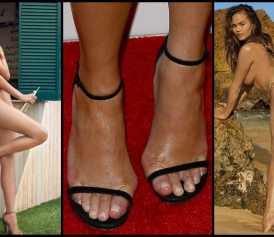 49 Sexy Chrissy Teigen Feet Pictures Which Are Simply Astounding