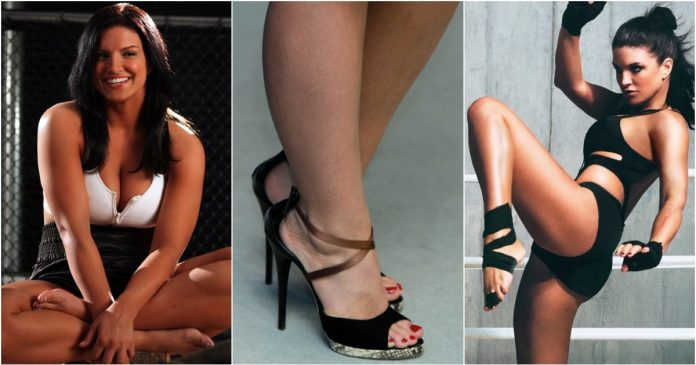 49 Sexy Gina Carano Feet Pictures Are Really Mesmerising And Beautiful