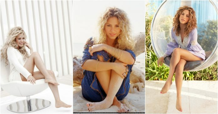 49 Sexy Shakira Feet Pictures are just too yum for her fans
