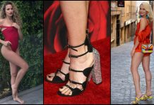 49 Sexy Shantel VanSanten Feet Pictures That Will Make Your Heart Thump For Her