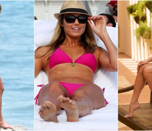 49 Sexy Stacy Keibler Feet Pictures Are Heaven On Earth