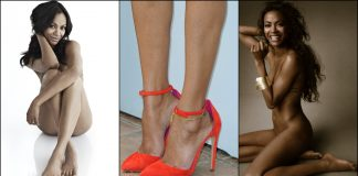 49 Sexy Zoe Saldana Feet Pictures Are Delight For Fans