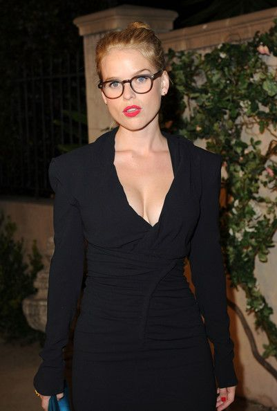 Alice Eve Red Lips