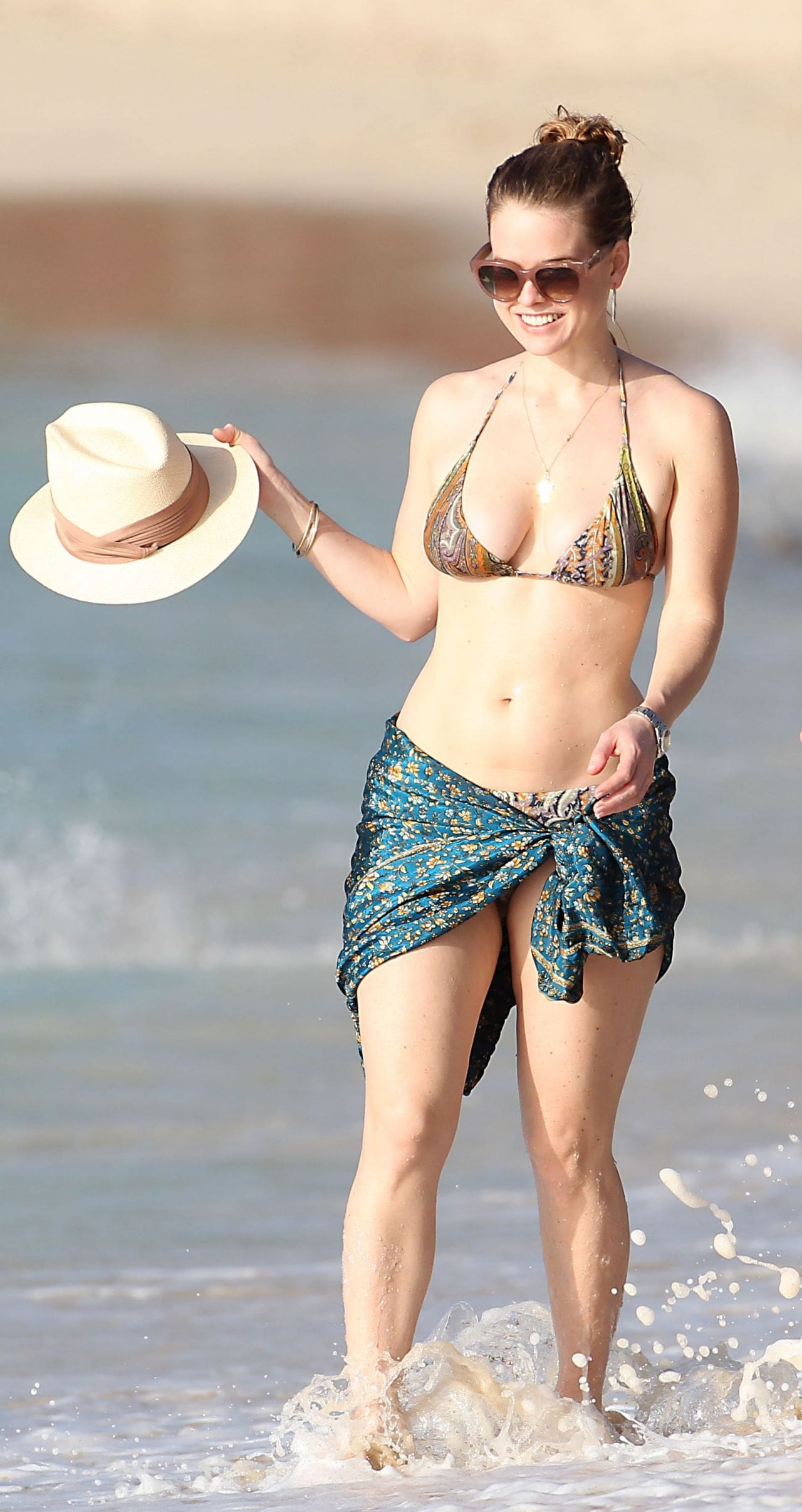 Alice Eve on Beach