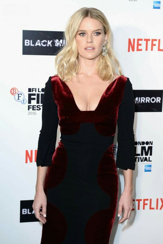 Alice Eve on Netflix Awards